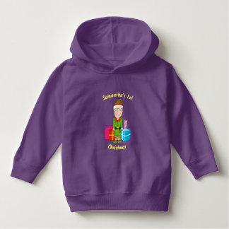 Happy Elf Christmas Toddler Hoodie