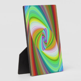 Happy ellipse magic display plaques