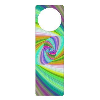 Happy ellipse magic door knob hangers