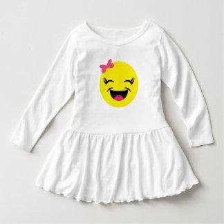 Happy Emoji Girl Dress
