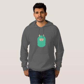 Happy Emoji Llama Hoodie