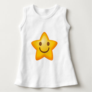 Happy Emoji Star Dress