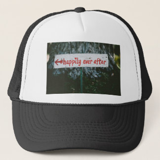 Happy ever after trucker hat