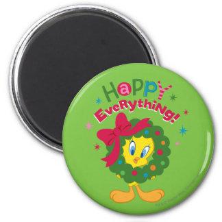 Happy Everything 6 Cm Round Magnet