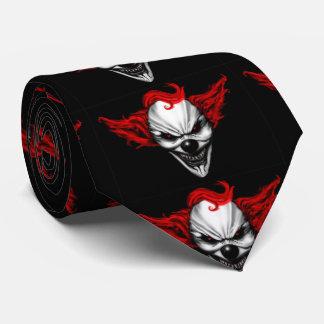 Happy Evil Clown Red Hair Tie