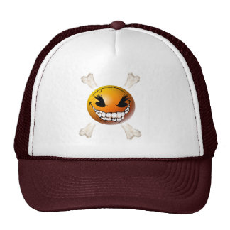 Happy, Evil Smiley Face Hat