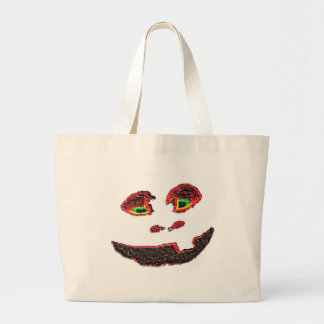 Happy Face Canvas Bags