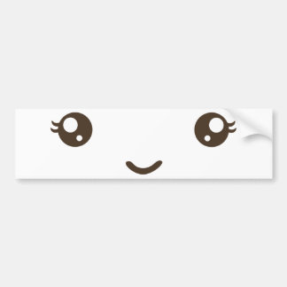 Happy Face Bumper Sticker