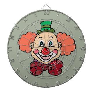 Happy Face Clown Dartboard