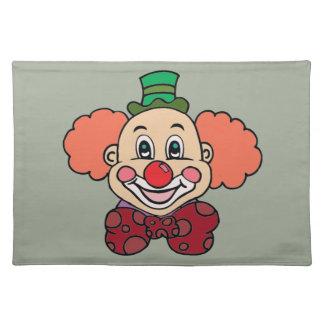 Happy Face Clown Placemat