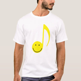 Happy Face Eighth Note T-Shirt