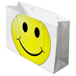 Happy Face Large Gift Bag
