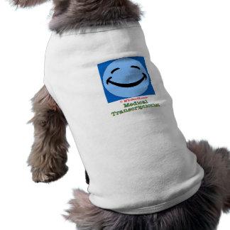 Happy Face MT Sleeveless Dog Shirt