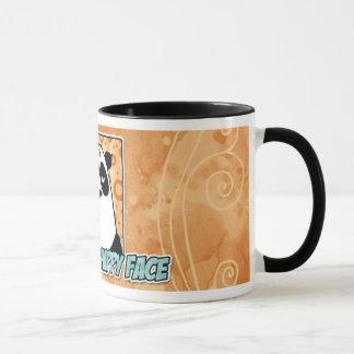 happy face mug
