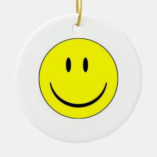 Happy Face Ornament