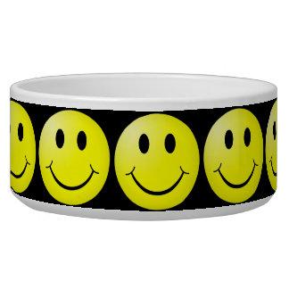 Happy Face Pet Food Bowl