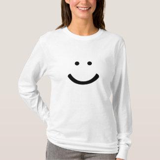 Happy Face T-Shirt Happiness Smiley Smile Share