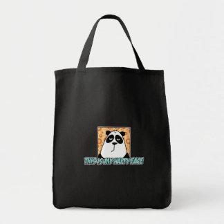 happy face tote bag