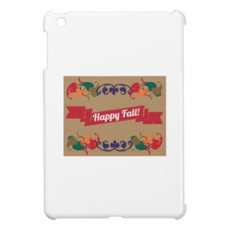 Happy Fall iPad Mini Case