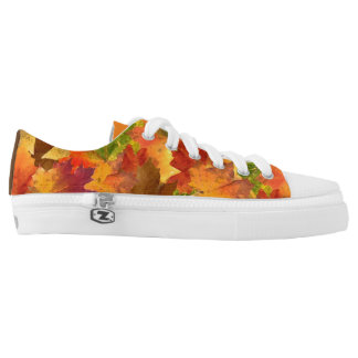 Happy Fall Printed Shoes