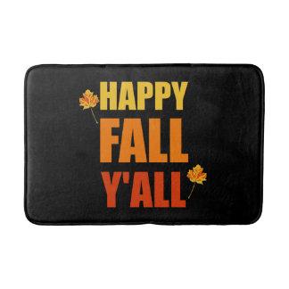Happy Fall Yall Bath Mats