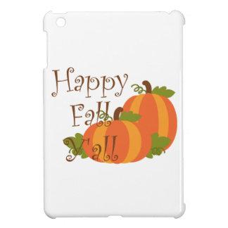 Happy Fall Y'all iPad Mini Covers