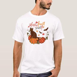 Happy fall y'all! T-Shirt