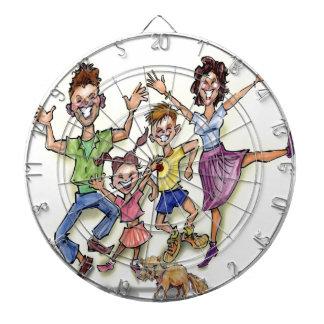 Happy Family Dartboard