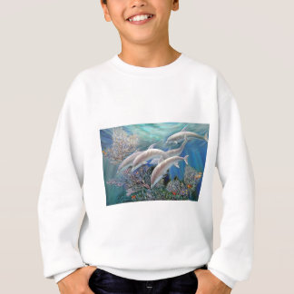 Happy_Family_-_Dolphins_Are_Awesome.JPG Sweatshirt