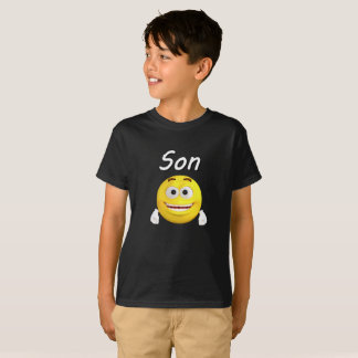 Happy Family Emoji Vacation Matching Shirt - Son