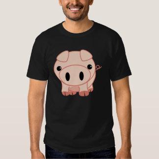 Happy Farm Animals Mr. Pig Tees