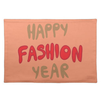 Happy Fashion Year Placemat
