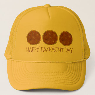 Happy Fasnacht Fastnacht Day Donut Doughnut Hat