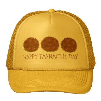 Happy Fasnacht Fastnacht Day Donut Doughnut Hat