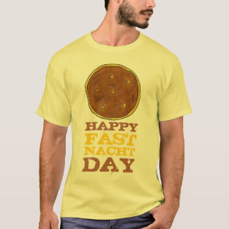Happy Fasnacht Fastnacht Day Easter Lent Donut Tee