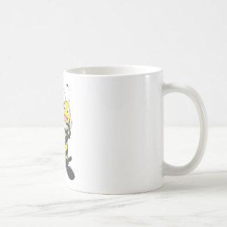 Happy Father and Daughter Bee Having Fun Coffee Mug