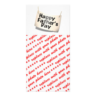 Happy Father s Day Banner Text Design Photo Cards