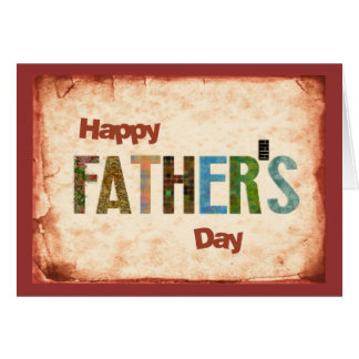 Happy Father s Day Greeting Card