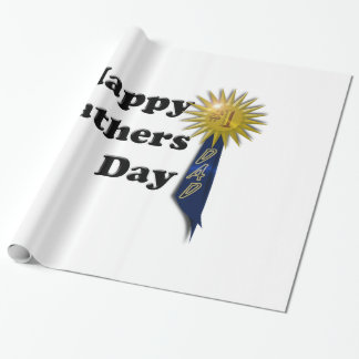Happy Father's Day - #1 Dad Wrapping Paper