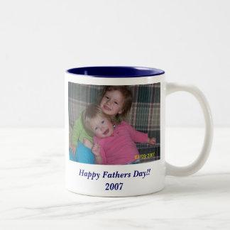 Happy Fathers Day!!  2007 Two-Tone Mug