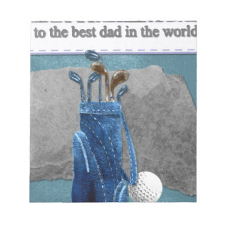 Happy-Fathers-Day #4 Notepad