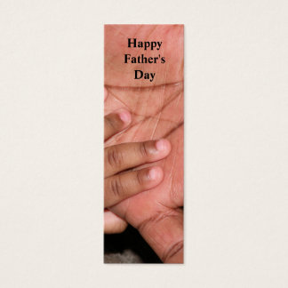 Happy Father's Day Bookmark Mini Business Card