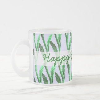 happy fathers day branches green mug