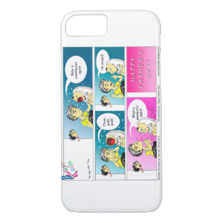 Happy Father's Day cartoon iPhone 7 Case