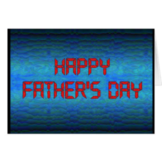Happy Father's Day - Computer Geek Card
