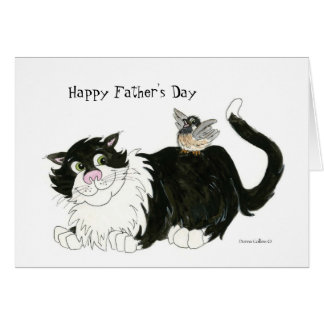 Happy Father's Day coolest cat Card
