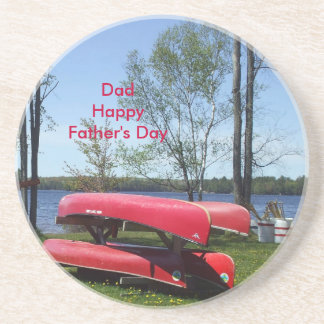 Happy Father's Day Dad Drink Coasters