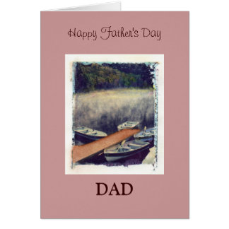 Happy Father's Day, DAD Greeting Card