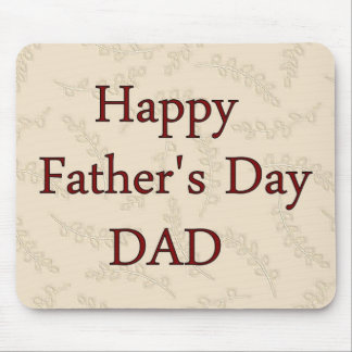 Happy Father's Day DAD Mouse Mat