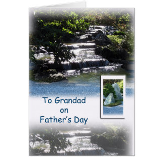 Happy Father's Day - For Granddad Card